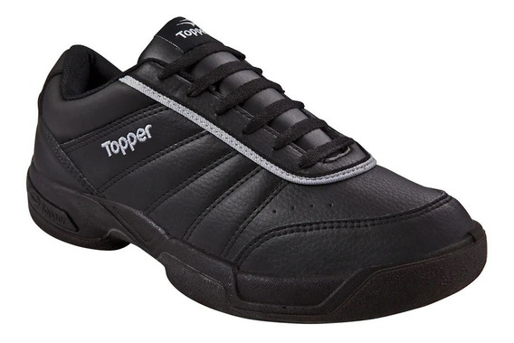 Zapatillas Topper Tie Break Iii Negro 35 Al 41 29701