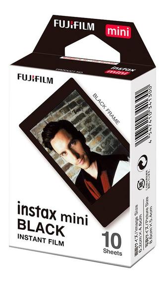 Filme Instax Mini Fujifilm 10 Fotos Bordas Pretas Com Nfe