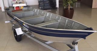 Barco Bateira Aluminio Pety Brasil 500 5,00 Metros 0km Novo