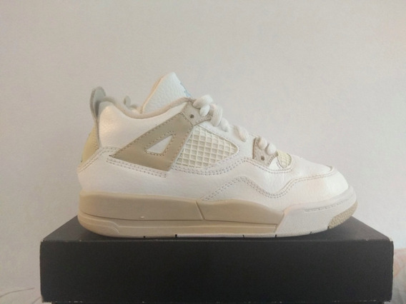 Air Jordan Retro 4 Linen 19 Cm