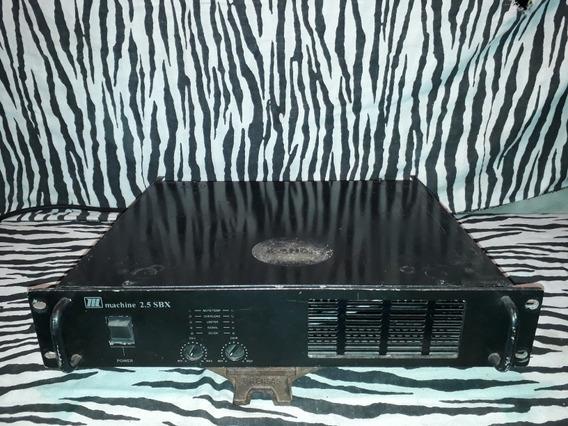 Amplificador De Potencia Machine 2.5 Sbx (leia A Descrição..