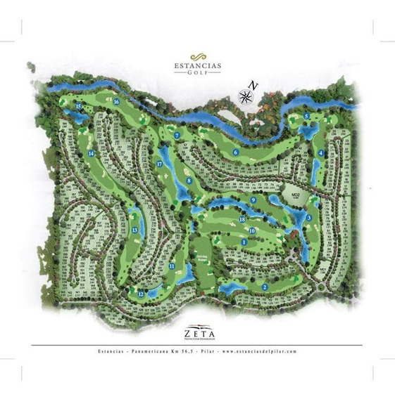 Venta Lote Estancias Golf Club Frente Hoyo 17, Pilar