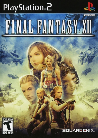 Jogo Ps2- Final Fantasy 12 Original-lacrado