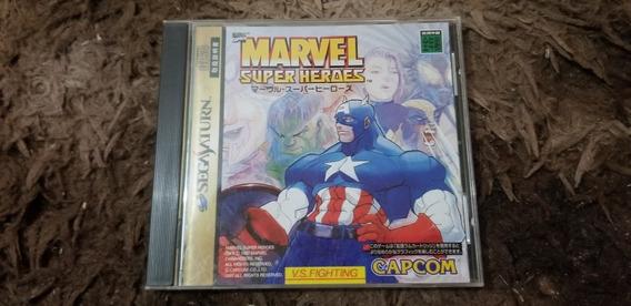 Marvel Super Heroes Original Japonês Sega Saturn.