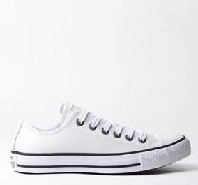 Tênis Converse All Star Couro Original Branco Ct04480001