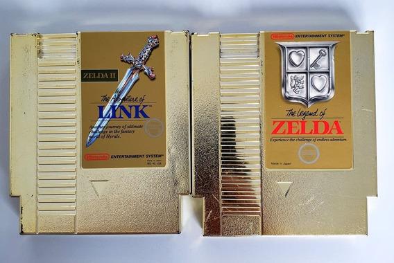 Lote Link E Zelda Nes Originais