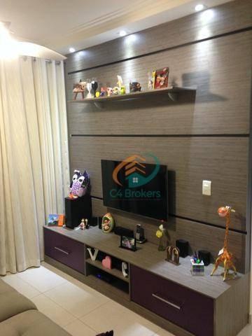 Imagem 1 de 23 de Apartamento À Venda, 76 M² Por R$ 450.000,00 - Picanco - Guarulhos/sp - Ap1487