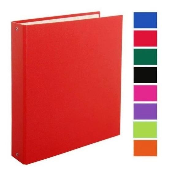 Carpeta Escolar 3 Anillos N.3 Plastificada Color 3x40mm