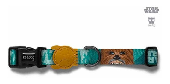 Coleira Zeedog Original Modelo Star Wars Chewbacca