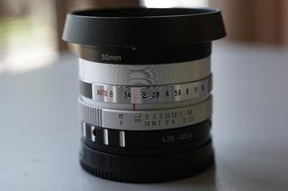 Lente Yashinon Dx 32mm F1.4 Adaptado Para Sony E Mount Aps-c