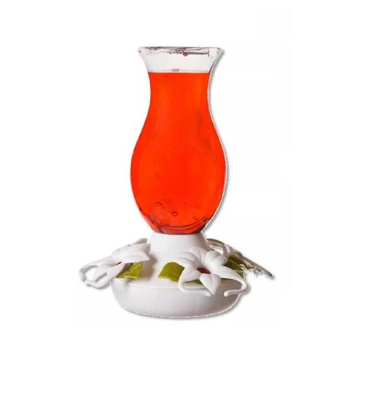 Bebedero Colibrí Blanco Con 4 Estaciones Oferta Liquidación