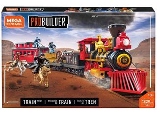 Asalto Al Tren Probuilder 1329 Pz Mega Construx