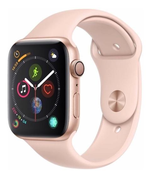 Relógio Apple Watch 44mm Série 4 Rose Novo