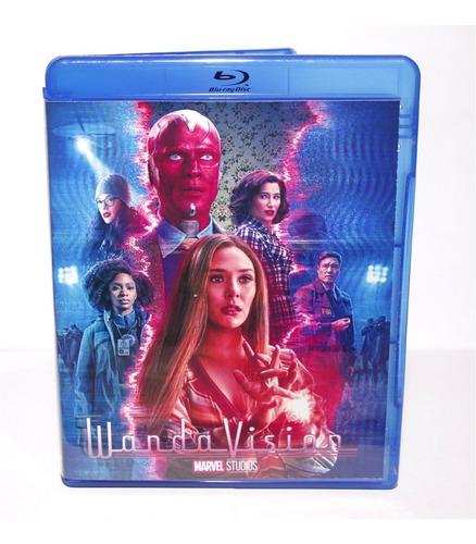 Imagem 1 de 3 de Blu-ray Série Wandavision - Missérie - Dubl-leg C/ Making Of
