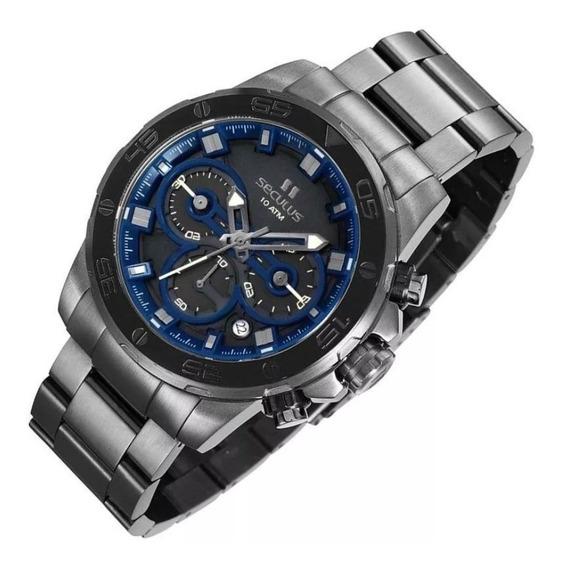Relógio Masculino Seculus Cronógrafo 1301gpsvsa2