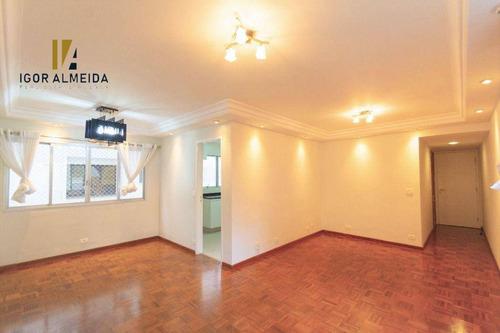Imagem 1 de 29 de Apartamento Com 3 Dormitórios À Venda, 110 M² Por R$ 1.100.000,00 - Jardim Paulista - São Paulo/sp - Ap48189