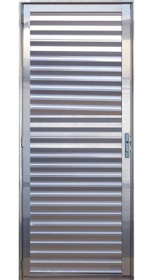 Porta Palheta De Alumínio Brilhante 2.10x0.80