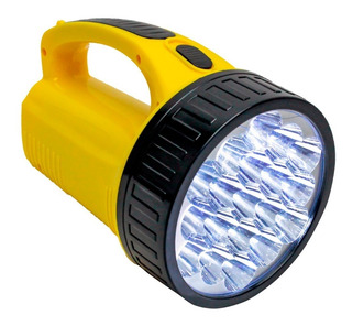 Lanterna Potente Alto Alcante 19 Leds Bivolt Desconto