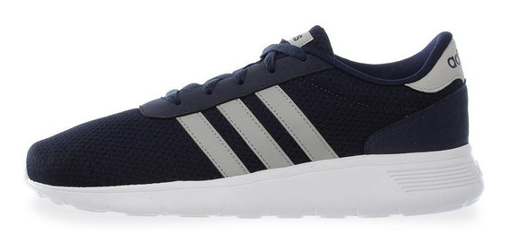 Tenis adidas Lite Racer - Bb9775 - Azul Marino - Hombre
