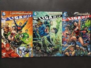 Liga De La Justicia N°1 Al 9, 11 Y 14 Ecc Ediciones