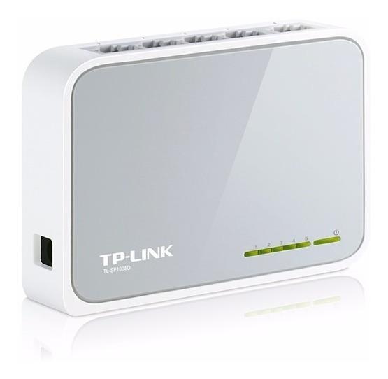 Conmutador Tp Link Sf1005d 5 Ports Ethernet Plug & Play
