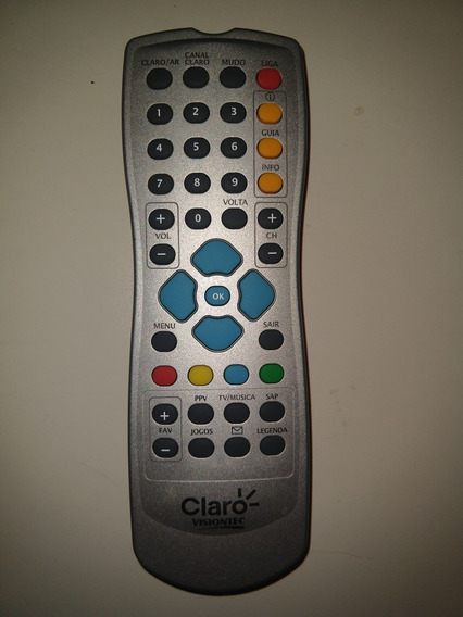 Controle Claro Tv Visiontec Original
