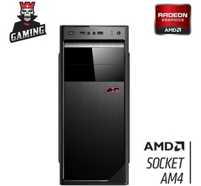 Pc Gamer Amd Quad Core A8 9600 4gb 500gb Radeon R7 3green