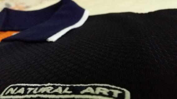 Camisa Gola Polo Natural Art - Tamanho M
