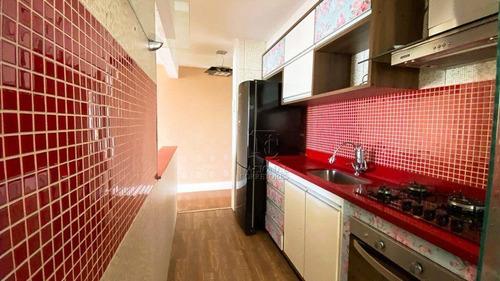 Imagem 1 de 30 de Apartamento Com 2 Dormitórios À Venda, 73 M² Por R$ 400.000,00 - Jardim - Santo André/sp - Ap12498