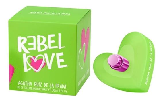 Perfume Agatha Ruiz De La Prada Rebel Love 30ml
