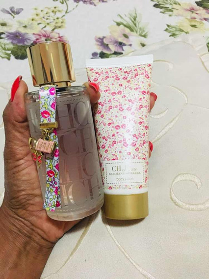 Carolina Herrera Edt E Locão Body