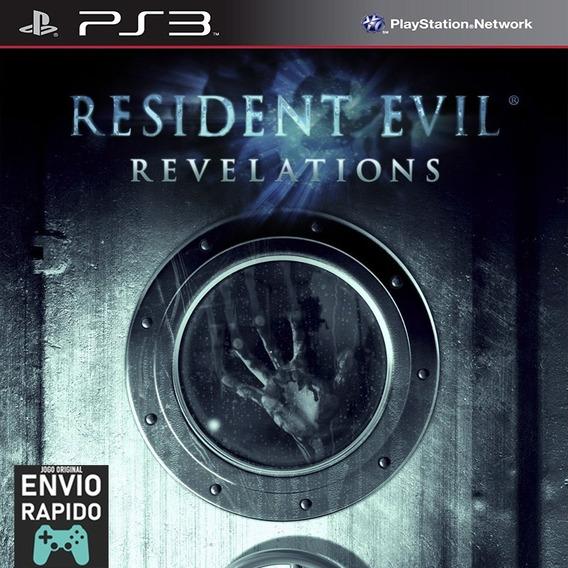 Resident Evil Revelations 1 - Jogos Ps3 Original