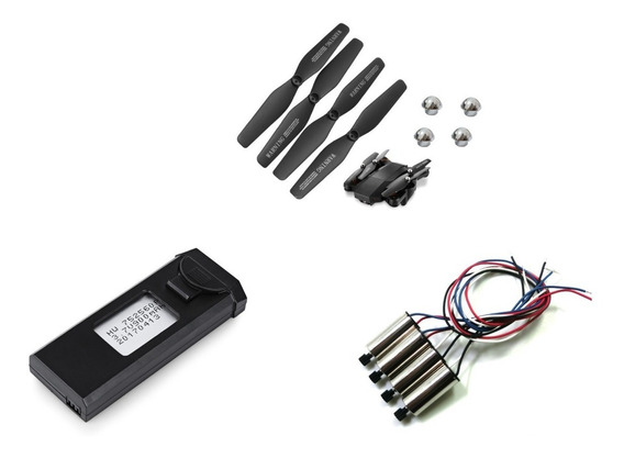 Kit Bateria + Motor + Helice Drone Visuo Xs809hw Xs809w