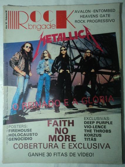 Revista-rock Brigade:vol.64:metallica,faith No More,korzus..