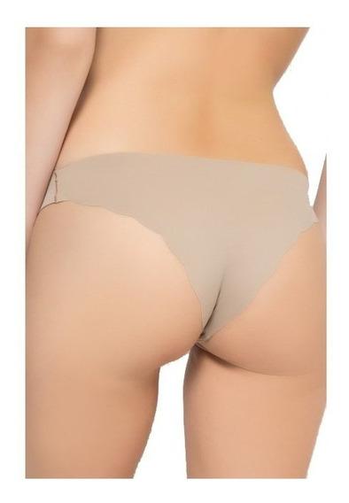 Bombacha Bikini Segunda Piel Cortada A Laser Sin Costura