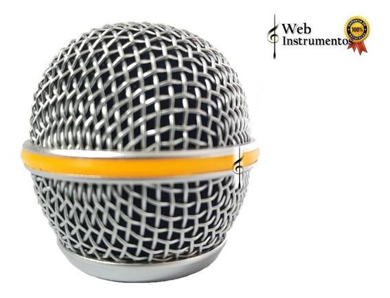 Kit 4 Globos De Microfone Shure, Beta58, Sm58, Lyco, Etc...