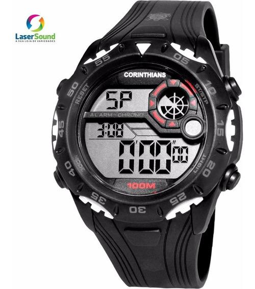 Relógio Technos Masculino Corinthians Cor1360/8p, C/gar E Nf