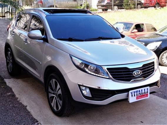 Kia Sportage Ex 2.0 Flex Aut. Top 2013 Prata