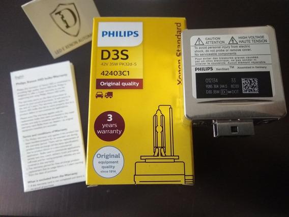 Lâmpada Xenon D3s 4300k 35w Philips Xenstart 9285304244