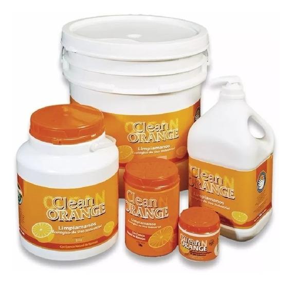 Pasta Limpiamanos Clean Orange 1/4kg Locx