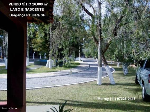 Sítio / Chácara Para Venda Em Bragança Paulista, Sítio, 26.000 M², Lago E Nascente, 3 Dormitórios, 2 Suítes, 6 Banheiros, 20 Vagas - 3025