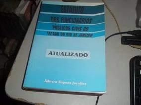 Livro Estatuto Dos Funcionários Públicos Civis Rj