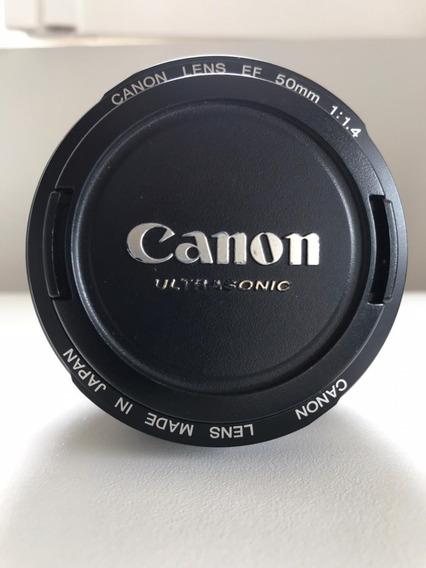 Lente Canon Ef 50 Mm 1:14 Ultrasonic