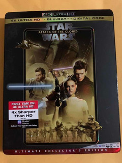 Starwars Attack Of The Clones 4k