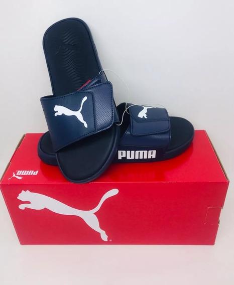 Chinelo Puma Azul Marinho - Pronta Entrega