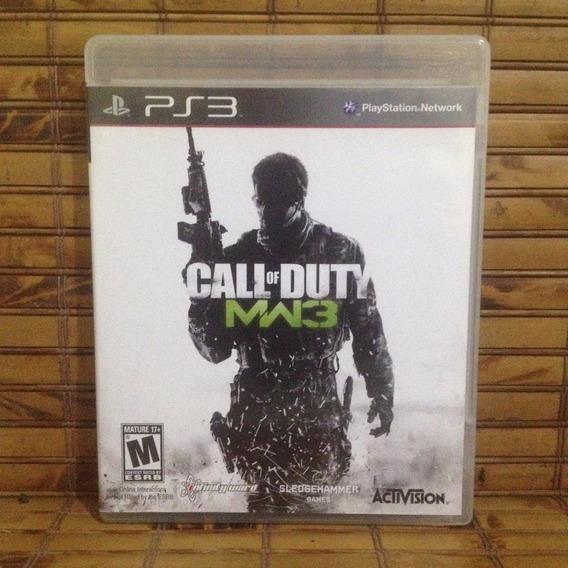 Jogo Ps3 - Call Of Duty Modern Warfare 3 Mw3 - Frete Barato