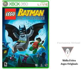 Jogo Lego Batman The Videogame Novo Midia Fisica Mxtgm