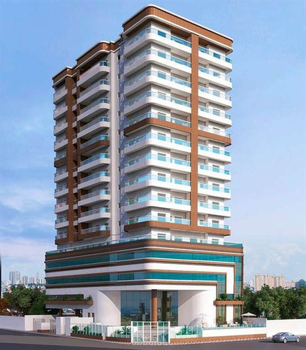Apartamento, 2 Dorms Com 72.35 M² - Guilhermina - Praia Grande - Ref.: Scp111 - Scp111
