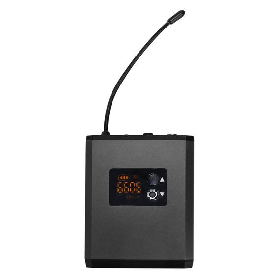 Sistema Microfone Recarregável Portátil Fone Sem Fio Fone Uh