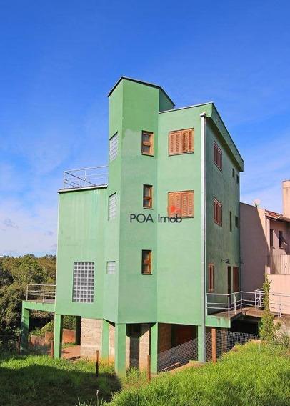 Casa Residencial À Venda, Lomba Do Pinheiro, Viamão. - Ca0311